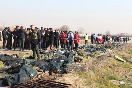 واکنش رئیس جمهور اکراین به حادثه سقوط هواپیما