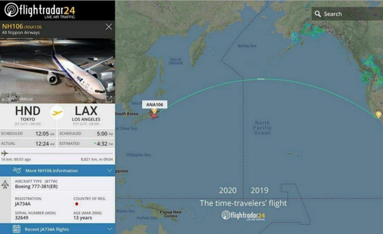 هواپیمایی که امسال پرواز کرد و پارسال فرود آمد!