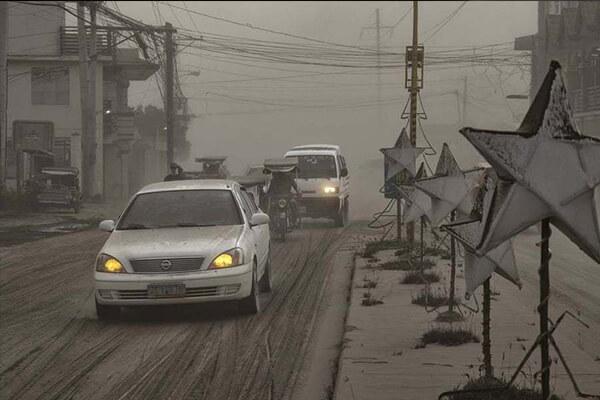 فوران آتشفشان تال در فیلیپین